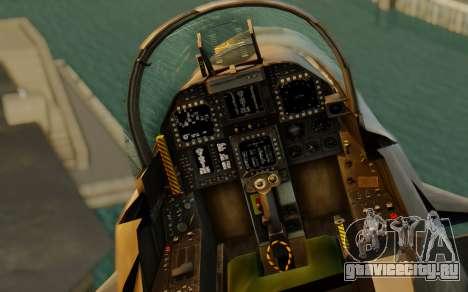 FA-18F Super Hornet BF4 для GTA San Andreas вид сзади