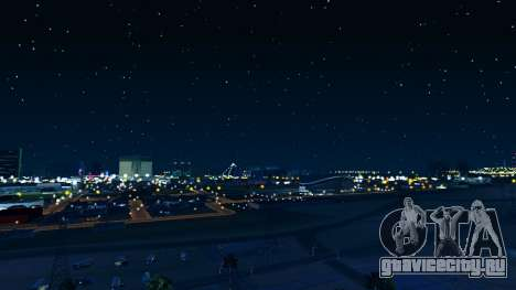 Skybox Real Stars and Clouds v2 для GTA San Andreas третий скриншот