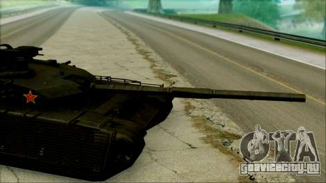 Type 99 BF4 для GTA San Andreas вид сзади слева