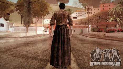 RE4 Isabel without Kerchief для GTA San Andreas третий скриншот