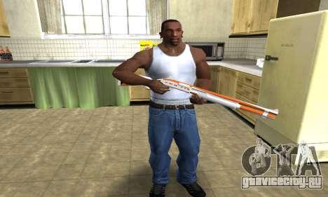 Asiimov Shotgun для GTA San Andreas третий скриншот