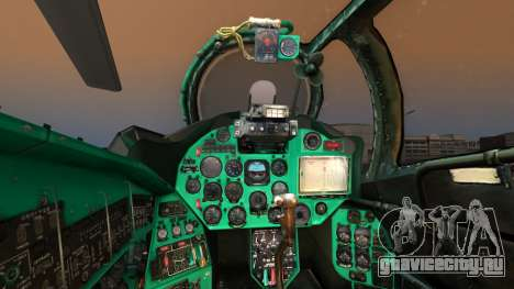 Mil Mi-24W Polish Land Forces для GTA San Andreas вид сзади