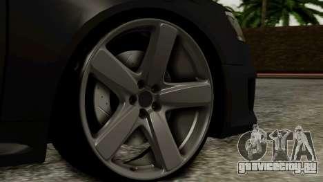 Audi RS6 Civil Drag Version для GTA San Andreas вид сзади слева