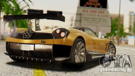 Pegassi Osyra Extra 2 для GTA San Andreas вид слева