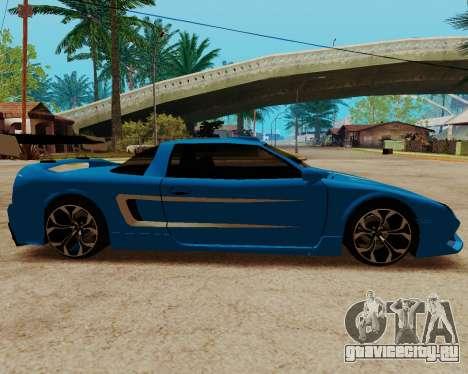 Infernus Lamborghini для GTA San Andreas вид слева