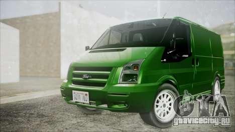 Ford Transit SSV 2011 для GTA San Andreas