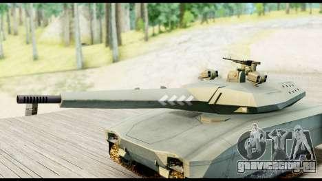 PL-01 Concept для GTA San Andreas вид сзади слева