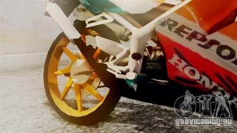 Honda NSR 150 SP для GTA San Andreas вид справа
