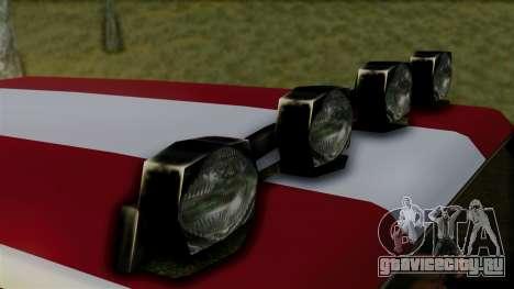 New Sandking для GTA San Andreas вид справа