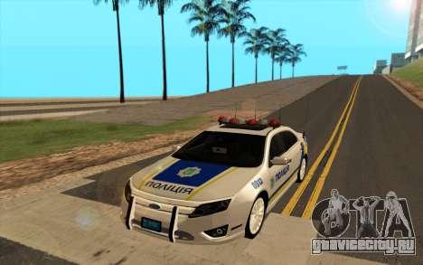 Ford Taurus Ukraine Police для GTA San Andreas