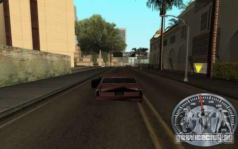 Железный спидометр для GTA San Andreas второй скриншот