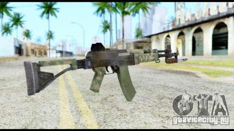 AK-47 from Resident Evil 6 для GTA San Andreas второй скриншот