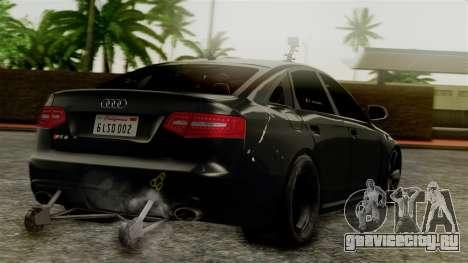 Audi RS6 Civil Drag Version для GTA San Andreas вид слева