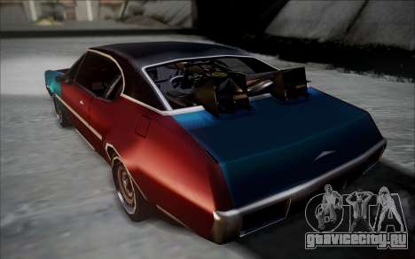 BTTF1-Clover для GTA San Andreas вид слева