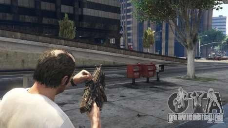 Gears of War Lancer 1.0.0 для GTA 5 седьмой скриншот
