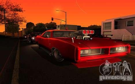 Zolta ENB для GTA San Andreas четвёртый скриншот