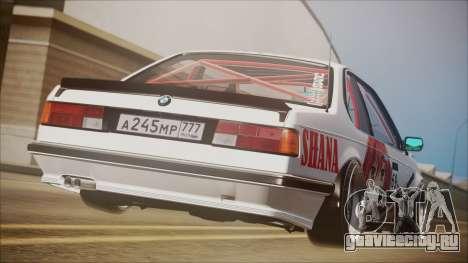 BMW E24 Shakugan No Shana Itasha для GTA San Andreas вид слева