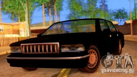 FBI Undercover Unmarked Premier для GTA San Andreas