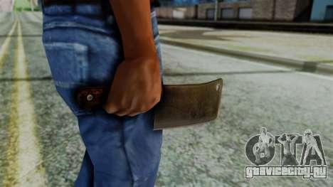 Cleaver from Silent Hill Downpour для GTA San Andreas третий скриншот