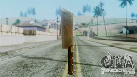 Cleaver from Silent Hill Downpour для GTA San Andreas