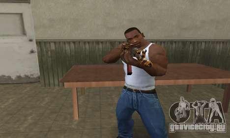 Leopard AK-47 для GTA San Andreas второй скриншот