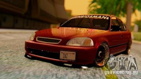 Honda Civic JnR Tuning для GTA San Andreas