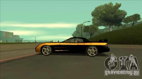 ZR-350 Road King для GTA San Andreas вид сверху
