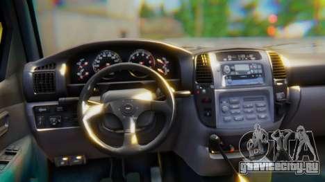 Toyota Land Cruiser 105 для GTA San Andreas вид справа