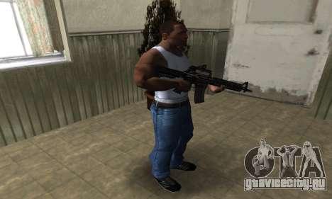 Brighty Leopard M4 для GTA San Andreas третий скриншот