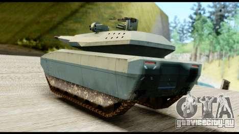 PL-01 Concept для GTA San Andreas вид слева