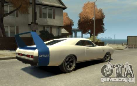 Dukes Impulse Daytona Stock Racing для GTA 4 вид слева