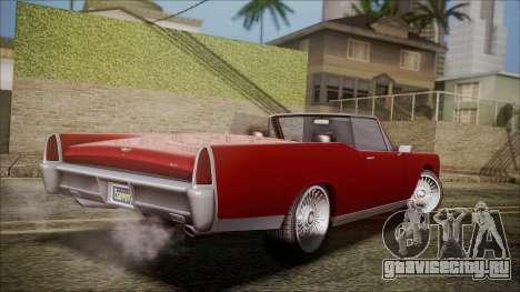 GTA 5 Vapid Chino для GTA San Andreas вид слева