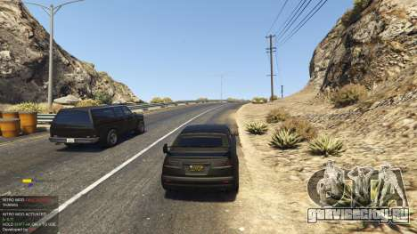 Nitro Mod (Xbox Joystick support) 0.7 для GTA 5 четвертый скриншот