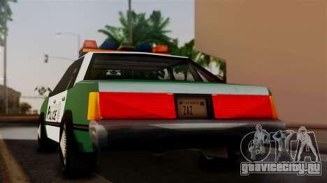 VCPD Cruiser для GTA San Andreas вид слева