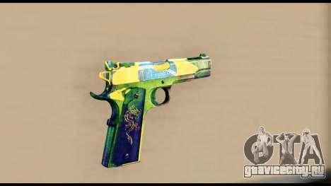 Brasileiro Pistol для GTA San Andreas второй скриншот