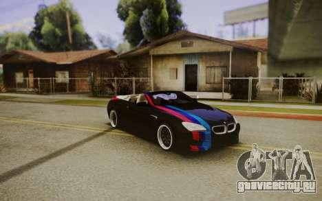 BMW M6 Cabrio для GTA San Andreas
