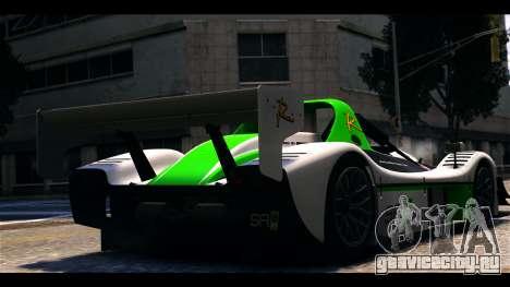 Radical SR8 RX для GTA 4 вид слева