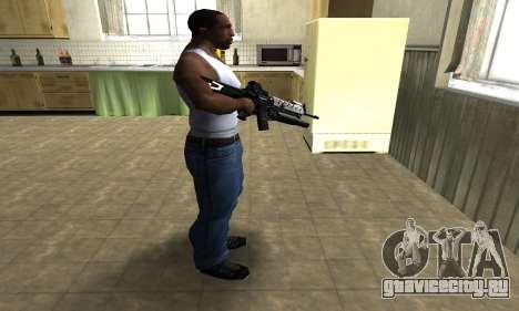Modern Black M4 для GTA San Andreas третий скриншот