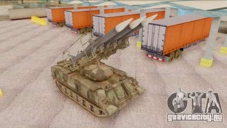 2K12 Kub from CoD MW для GTA San Andreas