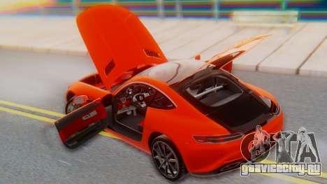 Mercedes-Benz SLS AMG GT для GTA San Andreas вид сверху