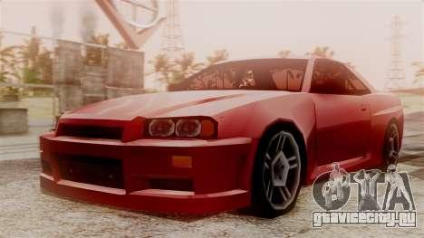 Nissan Skyline R34 SA Style для GTA San Andreas