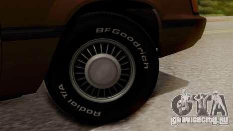 Ford LTD LX 1986 для GTA San Andreas вид сзади слева
