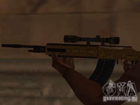 Marksman Rifle для GTA San Andreas третий скриншот