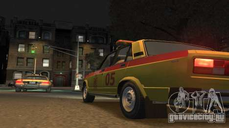 ВАЗ 2105 Горсвет для GTA 4 вид слева