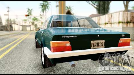Ford Taunus 2.3 для GTA San Andreas вид слева