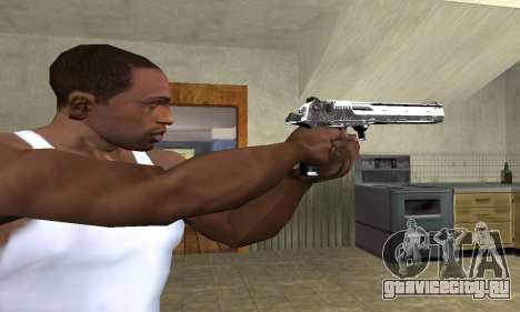 Flacon Deagle для GTA San Andreas третий скриншот