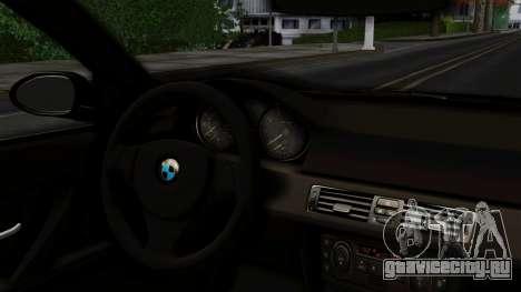 BMW 330i E46 YPX для GTA San Andreas вид сзади слева