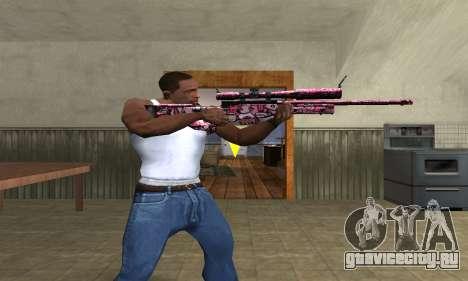 Lamen Sniper для GTA San Andreas третий скриншот