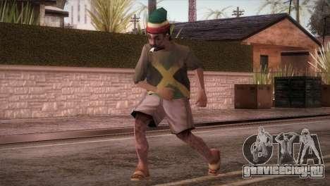 Rasta Grandpa для GTA San Andreas
