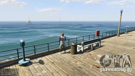 Fishing Mod 0.2.7 BETA для GTA 5 четвертый скриншот